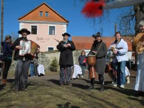 Masopustní veselice v Ekocentru Loutí 4.března 2017